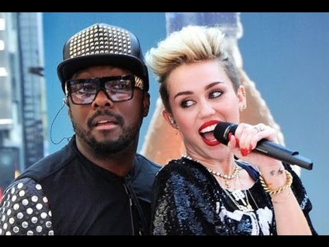 "Miley Cyrus Raps on Will i am ""Feeling Myself"" Song- Twerking & Molly!"