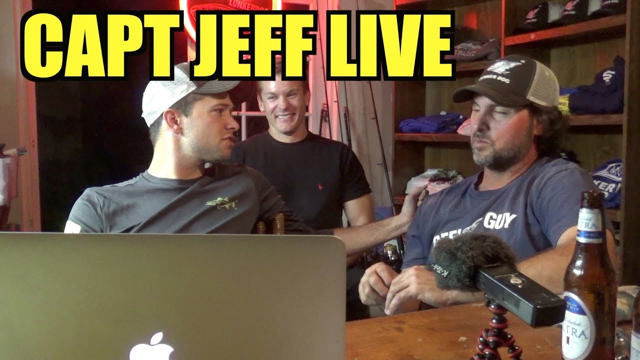 Captain Jeff Triple Live Show - with Busacca
