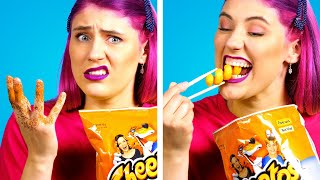HUNGRY for PRANKS?! 12 Best Food Pranks on Friends! Prank Wars & Funny Situations by Crafty Panda