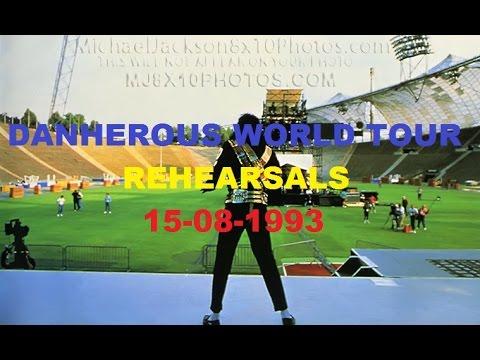 Michael Jackson Dangerous World Tour Rehearsal 15-08-1993