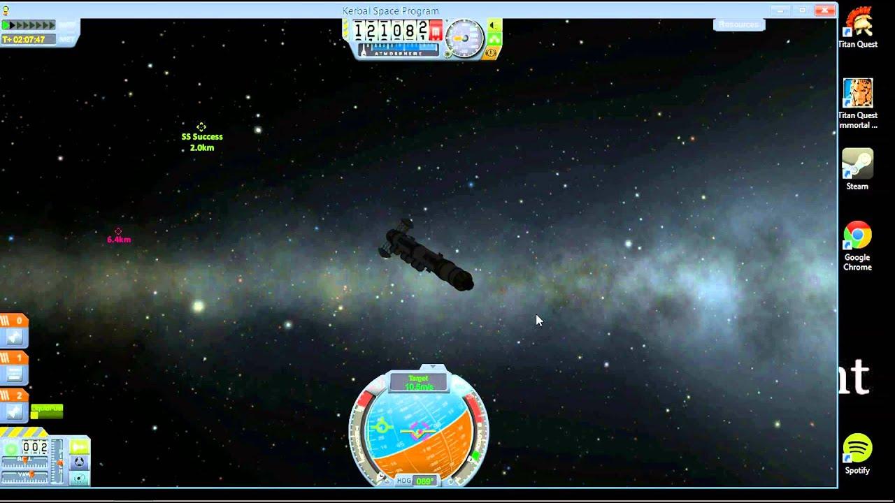 Kerbal Space Program   Docking Tutorial A-Z - YouTube