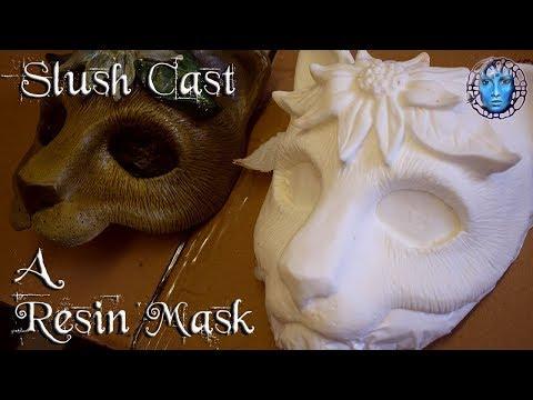 Slush Cast A Resin Cosplay/Masquerade Mask | Polycraft EasyFlo 120