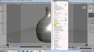 Softimage XSI Tutorial  -  Modeling Twisted Vase