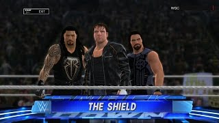 WWE 2K17:The Shield entrance(Xbox 360/PS3)
