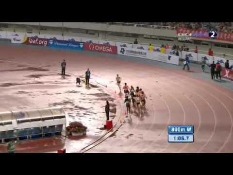 Francine Niyonsaba won 2013 Shanghai Women´s 800m