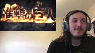 theflamingshark reaction to attack on titan openings and outos