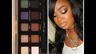 Amrezy Palette First Impression ♥ feat. Anastasia Amrezy palette {Full Face Tutorial } Thumbnail