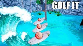 PRIMERA VEZ! SURF EN GOLF IT