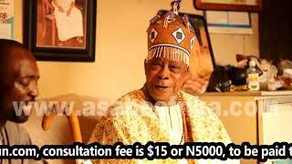Why Nigerians abroad battle Juju  Witchcraft - EGBEJI Oloogun