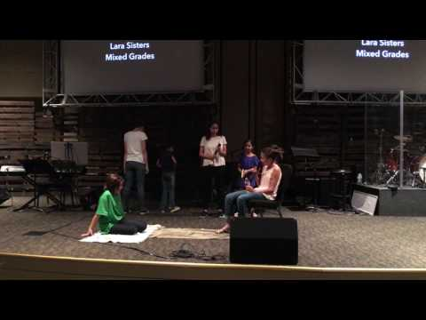 Lara Girls do the StudioC Dana's Dead tongue twister.