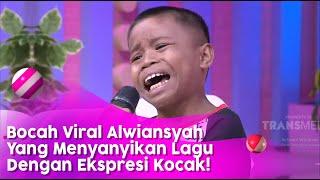 Download Mp3 Bocah Viral Alwiansyah yang Menyanyikan Lagu Dengan Ekspresi Kocak BROWNIS P1