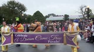 2014/1/1 WDW マジックキングダム Celebrate A Dream Come True Parade ...