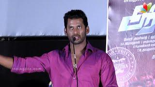 arya teased hansika in aambala audio launch   vishal sundar c   tamil movie songs