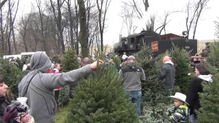 Strasburg Rail Road's 2014 Christmas Tree Train (in Hd)