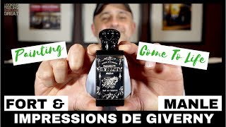 Fort & Manle Impressions De Giverny Review + USA Samples Giveaway