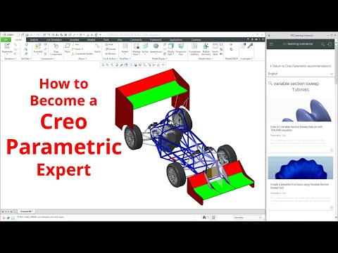 Creo Parametric - How To Become An Expert / Super User