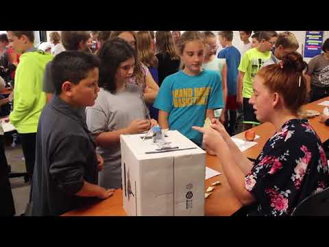 White Pines Intermediate School sixth-graders presented the Wax Museum Hall of Scientists on Thursda