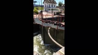 Migennes ecluse Canal de Bourgogne