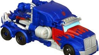 ทรานฟอร์เมอร์ 4 ของเล่น Transformers 4 Optimus Prime One Step Changer Review
