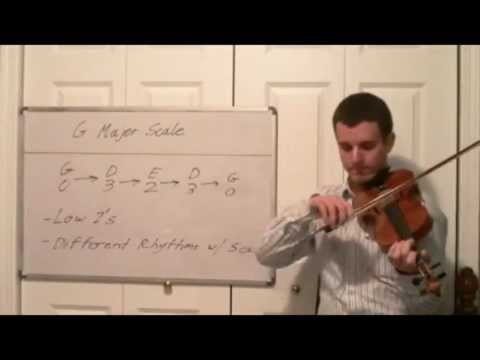 Learn the G Major Scale - Violin Lessons in Music Key and Scales