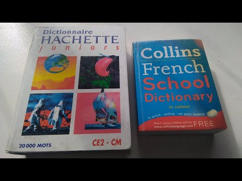 On French Dictionaries