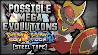 New Mega Evolutions In Pokemon Sun And Moon [Steel Types]