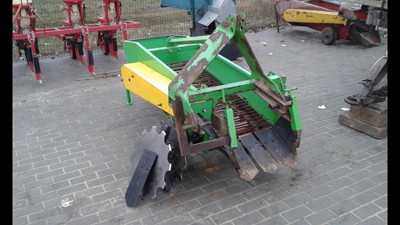 Купить картофелекопалку для трактора на agrobiz. Большой выбор и выгодные цены в украине. Картофелекопалка транспортерная однорядная ку-1s70
