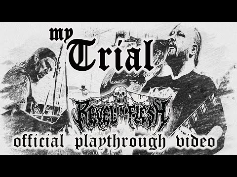 REVEL IN FLESH - My Trial (official video - guitar & drum playthrough)
