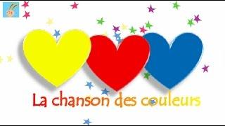 """""""Le jaune ,le rouge et le bleu"""" - Chansons et comptines pour enfants"""