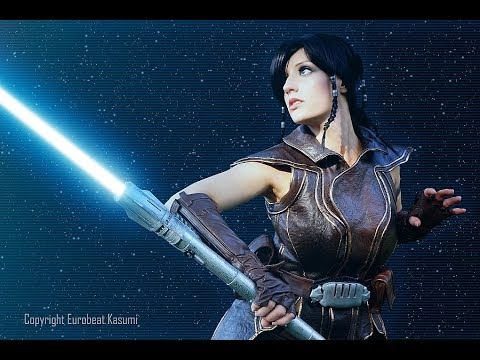 """Unboxing """"Lula Mae"""" AKA my Satele Shan Lightsaber from Star Wars the Old Republic"""