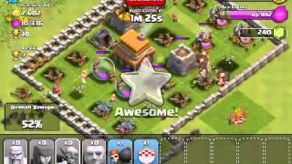CLASH OF CLANS TUT: Episode 7.2 - Protip Elixir Queuing when attacking (gameplay commentary)