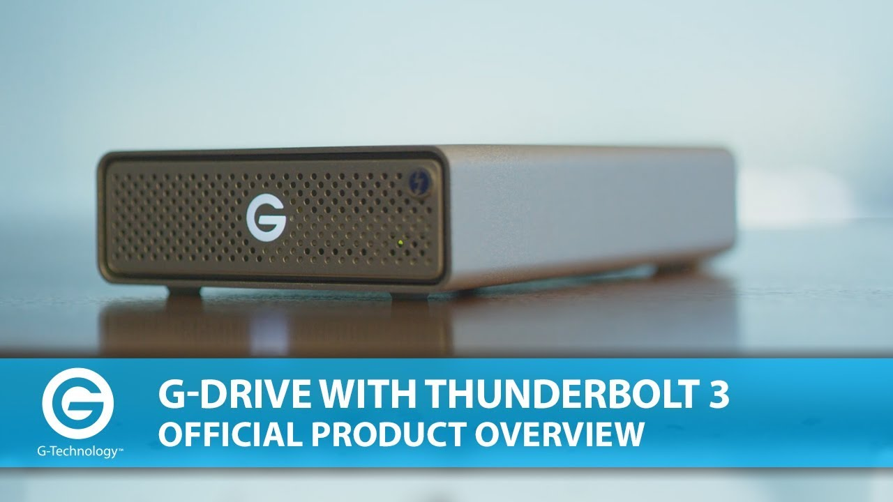 f6d87ef2042 G-DRIVE with Thunderbolt 3
