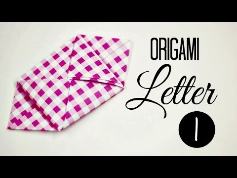 how to fold a letter 01