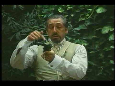 Roberto Escobar and Claudio Amendola scene from Nostromo