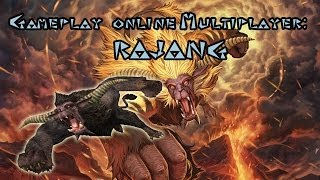 MH4 - RAJANG - 原生林 Primeval Forest - Monster Hunter 4 Online Multiplayer Gameplay ESPAÑOL