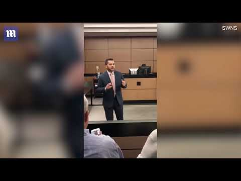 Heart-warming moment lawyer orchestrates 'trial' proposal