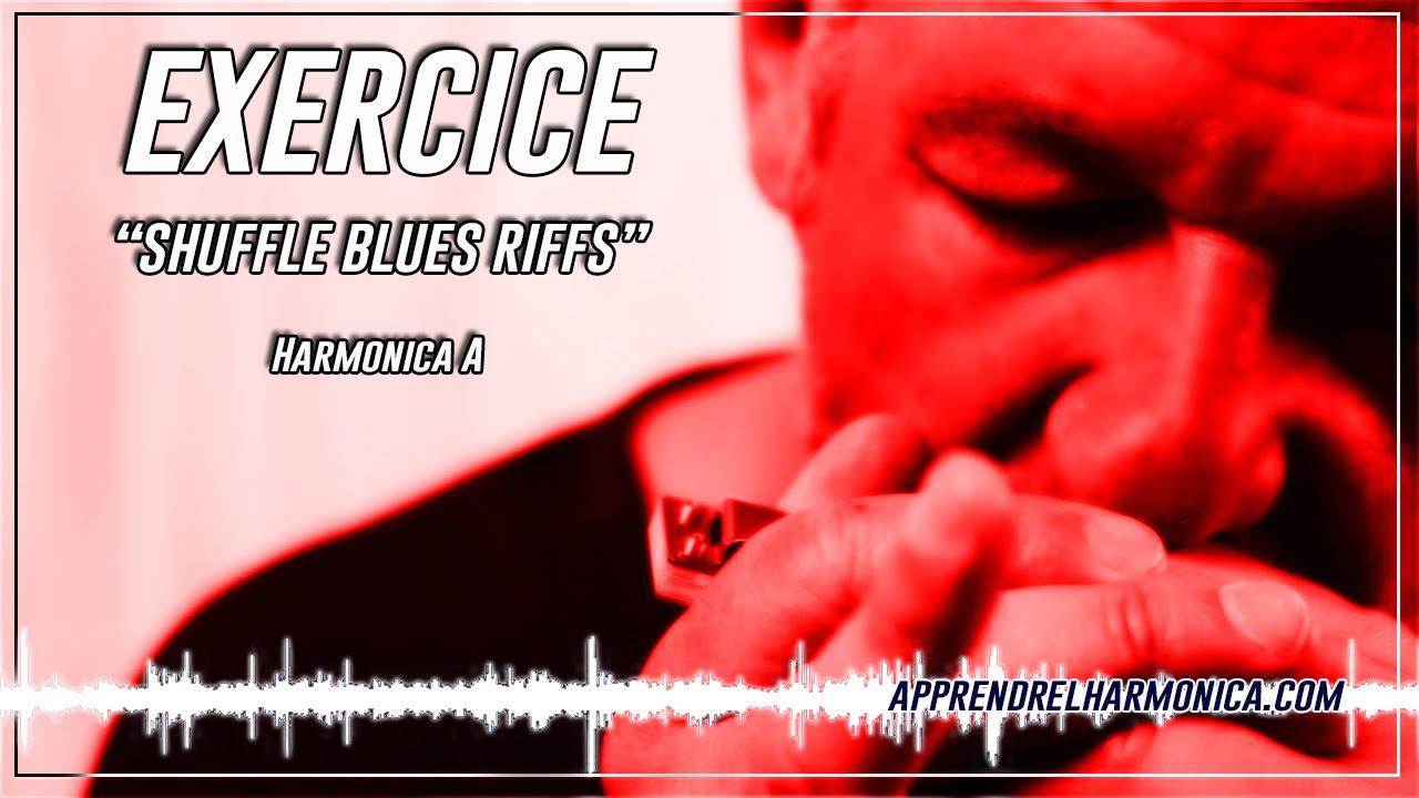 Harmonica A - Shuffle Blues riffs - Le plan de la semaine (07-2011)