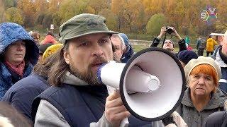 Москва зачищается от всего живого: парк Покровское-Стрешнево