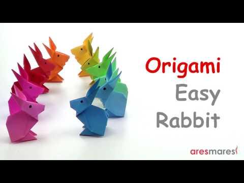 Origami Very Simple Rabbit (easy - single sheet)