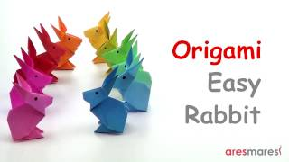 Origami Very Simple Rabbit (easy - single sheet)