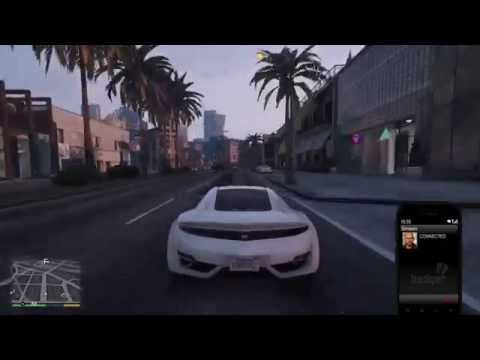 Ps4 GTA V Wasted. Death by traffic light.