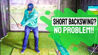 Short Backswing | It's EASY to OPTIMIZE Your Golf Swing