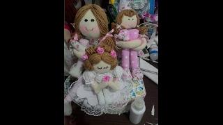 Boneca perna longa para quarto de bebê