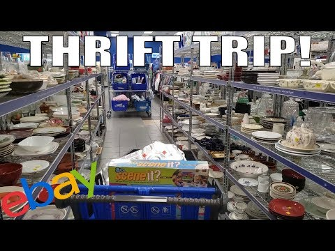 Thrifting Goodwills and Savers to Make Money! Selling on Ebay and Amazon FBA!