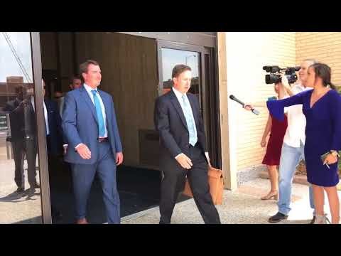 Bart Reagor Leaves Lubbock Federal Courthouse