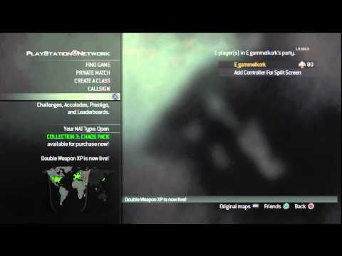 MW3 | 10th Prestige Level 80 | All Gold Guns