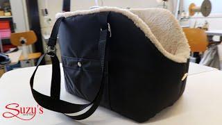 Dog Carrier Bag - Rainy Bear - The making