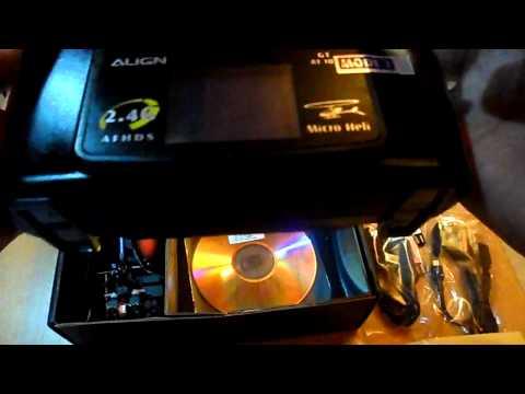 Unboxing Aling Trex 100x - Aeromodelismo Mentor