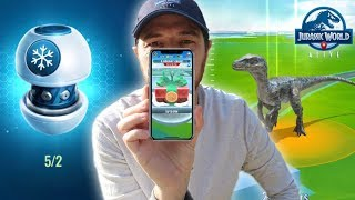 New Scent Capsule, Christmas Event, & Holiday Chase Jurassic World Alive