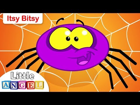 Itsy Bitsy Spider Nursery Rhyme | Kids Songs | by Little Angel
